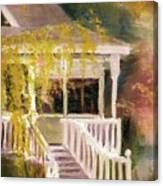 Glenridge Porch Canvas Print