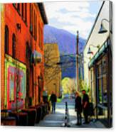 Glenwood Alleyscape Canvas Print