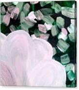 Glimmering Petals Canvas Print