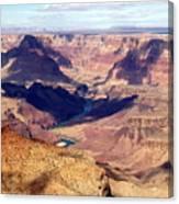 Glimpse Of River Canvas Print