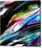 Glimpse Pink Fish Canvas Print