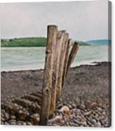 Glin Beach Breakers Canvas Print