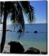 Glistening Anini Beach Canvas Print
