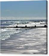 Glistening Shore Canvas Print