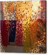 Glitter Glow Canvas Print