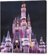 Glittering Cinderella Castle Canvas Print