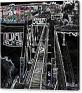 glo 247- Going To The Boardwalk Canvas Print