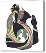 Global Love Canvas Print