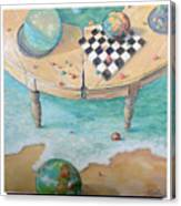 Global Strategy Canvas Print