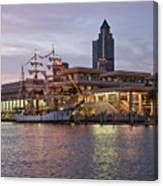 Gloria Visiting Tampa Canvas Print