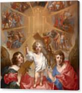 Glorification Of The Name Of Jesus Canvas Print