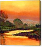 Glorious Foretaste Canvas Print