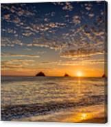 Glorious Playa Sunset Canvas Print