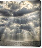 Glorious Rays Of The Heavens Canvas Print