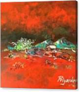 Glorious Red Canvas Print