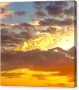 Glorious Sunrise Canvas Print