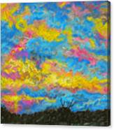 Glorious Sunset 2 Canvas Print