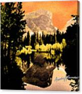 Glorious Yosemite Canvas Print