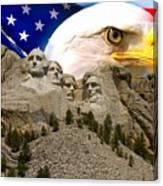 Glory To America Canvas Print