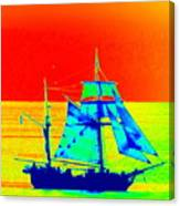 Glow Ship 7 Photograph Canvas Print