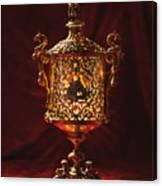 Glowing Antique Lantern Canvas Print