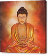 Glowing Buddha  Canvas Print