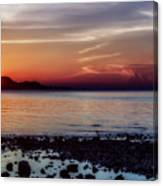 Glowing Evening Canvas Print