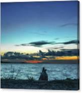 Glowing Horizon Canvas Print