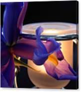 Glowing Iris Canvas Print