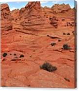 Glowing Sand In The Buttes Canvas Print