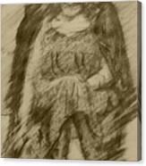 Glum Gillian Canvas Print