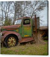 Gmc Green Canvas Print