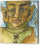 Gnarlsworth Gnome Canvas Print