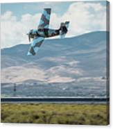 Go Fast Turn Left Fly Low Friday Morning Unlimited Bronze Class Canvas Print