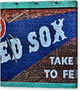 Go Red Sox Canvas Print