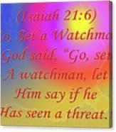 Go Set A Watchman Canvas Print