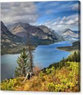 Goat Haunt Panorama Canvas Print