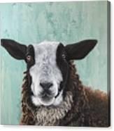 Goat Tee Canvas Print