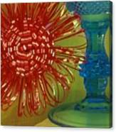 Goblet Bow Canvas Print