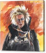 Goblin King At His Best Canvas Print