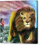 God Chaser Canvas Print