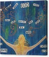God Canvas Print