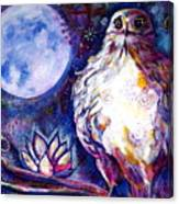 Goddes Hawk Canvas Print
