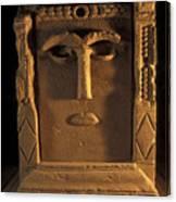 Goddess Hayyan Idol From The Temple Canvas Print