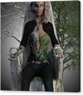 Goddess Hel Canvas Print