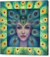 Goddess Isis Visions Canvas Print