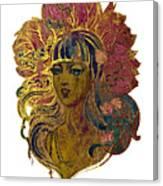 Goddess Lotus Canvas Print