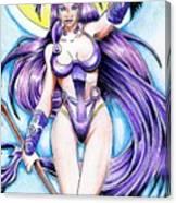 Goddess Morrigan Canvas Print