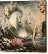 Goddess Of Bliss  Canvas Print