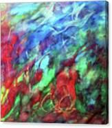Goddess Of Creation Canvas Print